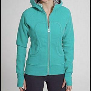 Lululemon Turquoise Scuba Hoodie Sweatshirt Yoga